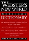 Webster`s New World Notebook Dictionary
