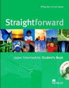 Straightforward Upper Intermediate Student`s Book with CD-ROM