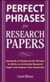 Perfect Phrases for Research Papers