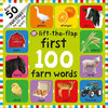 First 100 Farm Words Lift-the-Flaps