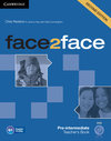 face2face 2nd Edition Pre-intermediate Teachers Book with DVD