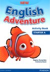 New English Adventure Starter A Activity Book and Song CD Pack