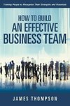 How to Build an Effective Business Team
