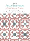 Asian Patterns Coloring Book