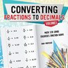 Converting Fractions to Decimals Volume I - Math 5th Grade | Children's Fraction Books