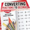 Converting Fractions to Decimals Volume III - Math 5th Grade | Children's Fraction Books