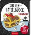Sticker-Rätselblock Piraten