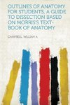 Outlines of Anatomy for Students, a Guide to Dissection Based on Morris's Text-Book of Anatomy