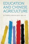 Education and Chinese Agriculture
