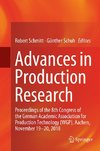 Advances in Production Research