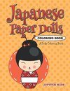 Japanese Paper Dolls Coloring Book