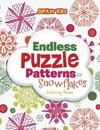 Endless Puzzle Patterns Of Snowflakes Coloring Book