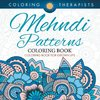 Mehndi Patterns Coloring Book - Coloring Book For Grown Ups