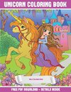 Girls Coloring Book (Unicorn Coloring Book)