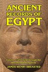 Ancient Records of Egypt Volume I