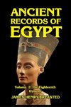 Ancient Records of Egypt Volume II