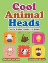 Cool Animal Heads Cut & Paste Activity Book - Activities With Kids
