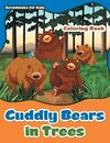 Cuddly Bears in Trees Coloring Book