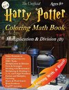 Harry Potter Coloring Math Book Multiplication and Division (B) Ages 8+