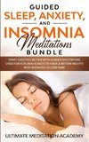 Guided Sleep, Anxiety, and Insomnia Meditations Bundle