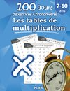 Les tables de multiplication - 100 Jours d'Exercices Chronométrés