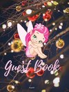 Guest Book - Fairy Themed |Hardback 82 Color pages |8x10 Inches
