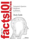 Studyguide for Operations Management by Stevenson, ISBN 9780072971224