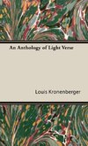 An Anthology of Light Verse