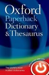 Oxford Kt Dictionary & Thesaurus