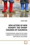 NEW ACTORS OF NEW POVERTY: THE