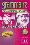 250 GRAMMAIRE EXERCICES+CORRIGES INTERM
