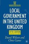 Local Government in the United Kingdom