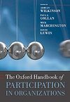 Oxford Handbook of Participation in Organizations