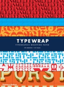 Typographic Gift Wrapping Pape