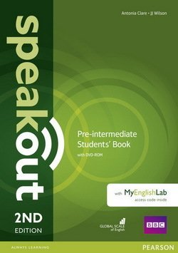 Speakout Pre-Intermediate 2nd Edition Coursebook with DVD-ROM & MyEnglishLab