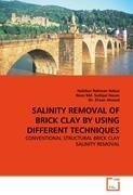 SALINITY REMOVAL OF BRICK CLAY BY USING DIFFERENT TECHNIQUES