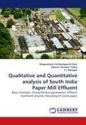 Qualitative and Quantitative analysis of South India Paper Mill Effluent
