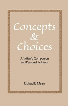 Concepts and Choices