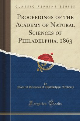 Academy, N: Proceedings of the Academy of Natural Sciences o