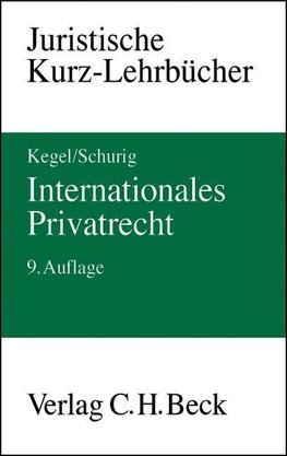 Kegel: Intern. Privatrecht