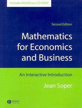 Soper, J: Mathematics for Economics and Business