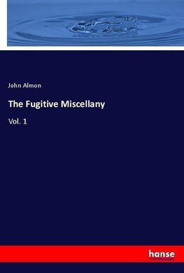 The Fugitive Miscellany