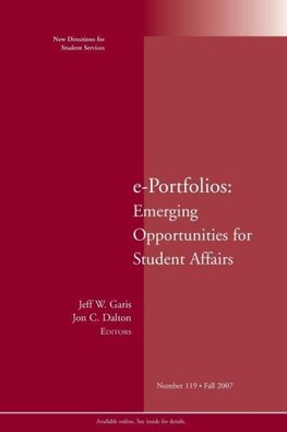 e-Portfolios no 119 Fall 2007