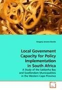 Local Government Capacity for Policy Implementation in South Africa