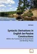 Syntactic Derivations in English be-Passive  Constructions