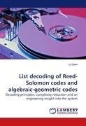 List decoding of Reed-Solomon codes and algebraic-geometric codes