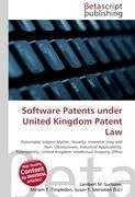 Software Patents under United Kingdom Patent Law