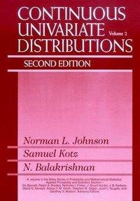 Johnson, N: Continuous Univariate Distributions, Volume 2