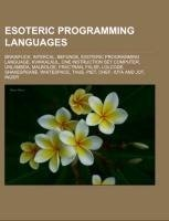 Esoteric programming languages