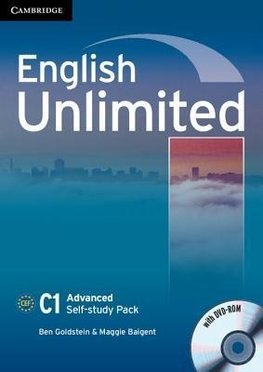 Goldstein, B: English Unlimited Advanced Self-study Pack (Wo